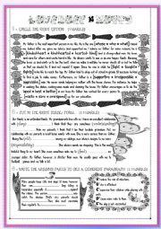 English Worksheet: Mid term test 1 ( part 1)