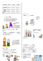 Simple Comparatives Test