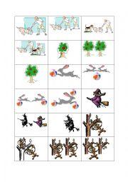 English Worksheet: Card set to practise pronouncing
