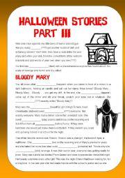 Mixed Bag - Halloween Stories Part III