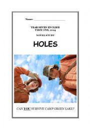Holes (Louis Sachar) Study Guide