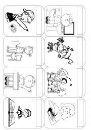 English Worksheet: CLASSROOM COMMANDS PART II
