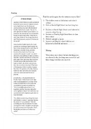 English Worksheet: Movers final exam