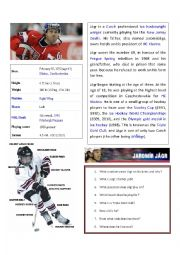 Jagr hockey player