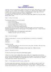 English Worksheet: PART 1 Colouring carnation - CLIL lesson
