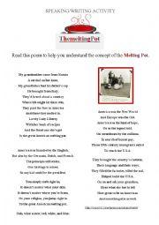 poem - The Melting Pot