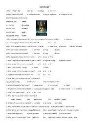 english worksheets using movies worksheets page 176. Black Bedroom Furniture Sets. Home Design Ideas