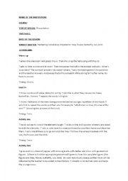 English Worksheet: Lesson plan 2 Kinder