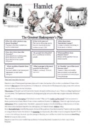 English Worksheet: Hamlet