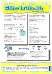 English Worksheet: Song for the Present Perfect(Have you ever)