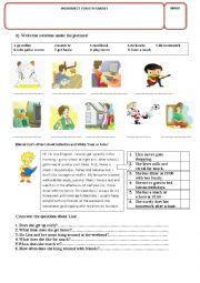 English Worksheet: WORKSHEET FOR 6TH GRADES