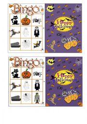 Halloween Bingo 1/7