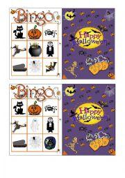 Halloween Bingo 3/7