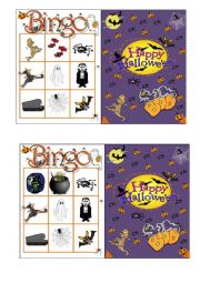 Halloween Bingo 4/7