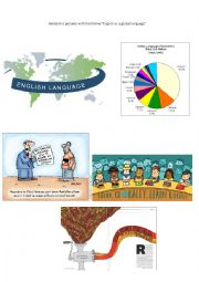 English Worksheet: Global Language