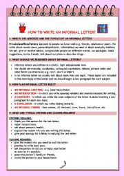 HOW TO WRITE AN INFORMAL LETTER?