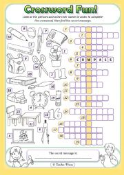English Worksheet: Welcome Back to School!