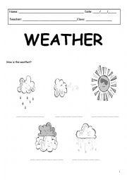 english worksheets the weather worksheets page 66. Black Bedroom Furniture Sets. Home Design Ideas