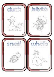 English Worksheet: Animals *3