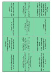 English Worksheet: Conversation Starters 4