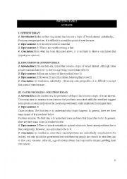 English Worksheet: IELTS Writing Samples