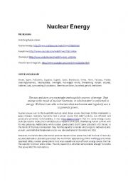 Nuclear Energy :Useful or harmful?