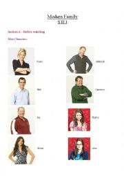 English Worksheet: Modern Family (S1E1) - Conditionals 0, 1, 2, & 3