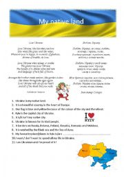 English Worksheet: Ukraine