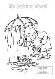 Winnie the Pooh Autumn Activity