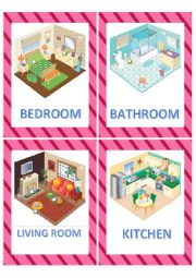 Rooms of the house flashcards