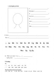 English Worksheet: The first lesson for adults