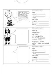 english worksheets personal information worksheets page 42. Black Bedroom Furniture Sets. Home Design Ideas
