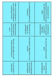English Worksheet: Conversation Starters 5