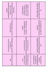 English Worksheet: Conversation Starters 6