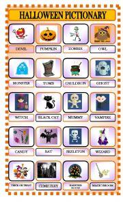 Halloween Pictionary Part 1