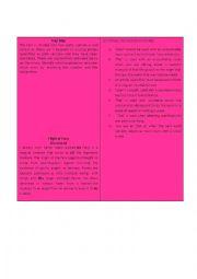 English Worksheet: Articles (card game 3)