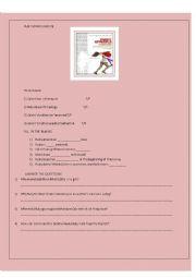 Ruby Sparks movie worksheet