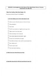English Worksheet: worksheet Chapter ten Bwling for Columbine