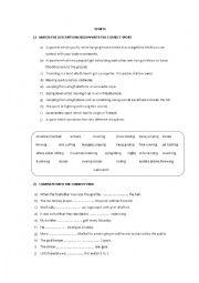 english worksheets the sports worksheets page 156. Black Bedroom Furniture Sets. Home Design Ideas