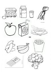 English worksheets: healthy / unhealthy food