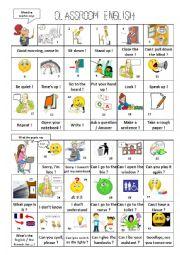 Classroom English Part 2