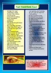 Fast food/junk food