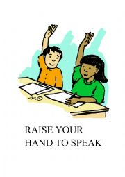 English Worksheet: Classroom�s commands
