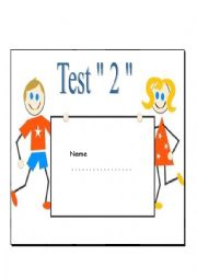 English worksheet: Test for beginners