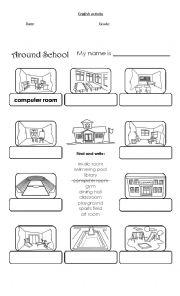places at school esl worksheet by natyzenteno. Black Bedroom Furniture Sets. Home Design Ideas