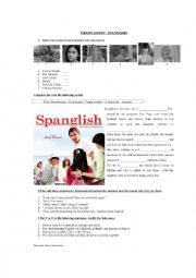 Spanglish Essay