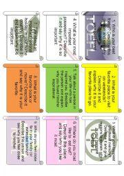 English Worksheet: TOEFL SPEAKING SAMPLE 1
