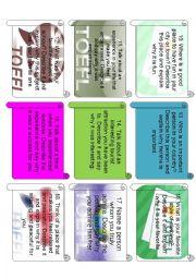 English Worksheet: TOEFL SPEAKING SAMPLE 2