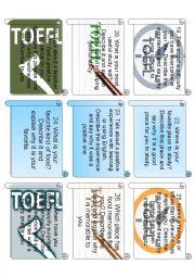 English Worksheet: TOEFL SPEAKING SAMPLE 3