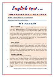 english worksheets test 10th grade 2nd part. Black Bedroom Furniture Sets. Home Design Ideas